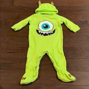 3 items/ $15 - Monsters Inc Footie Pajamas